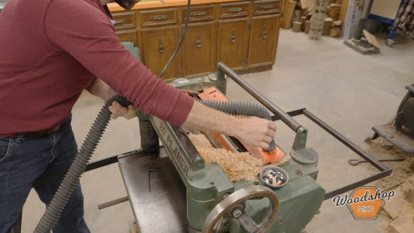 how to clean a planer