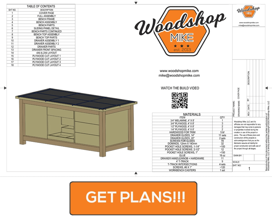 ultimate mobile workbench plans