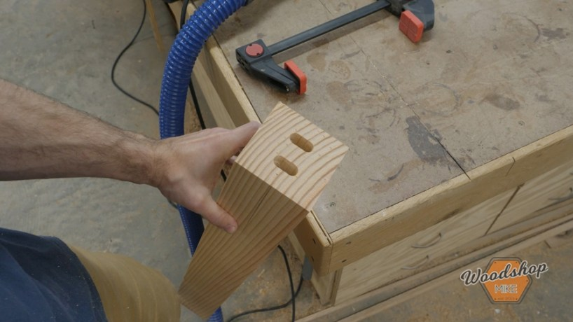 cutting mortises