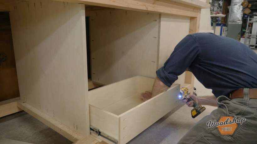 how to install drawers