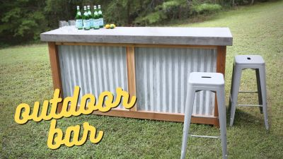 How to Build an Outdoor Bar