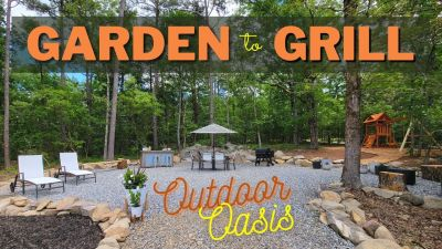 Creating a Garden to Grill Outdoor Oasis