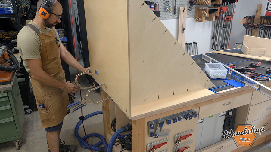 how to assemble a cabinet with pocket hole screws