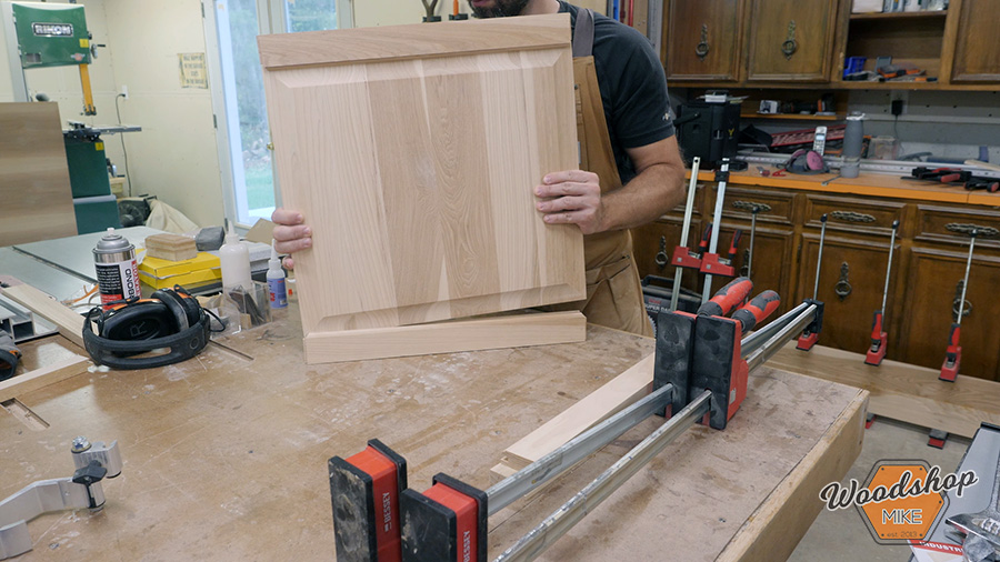how to assemble raised panel doors