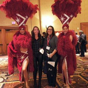 Interns at convention