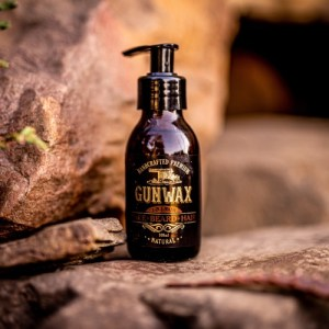 Mens soap for face beard and hair