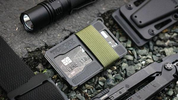 Trayvax Armored Summit Slim RFID Wallet