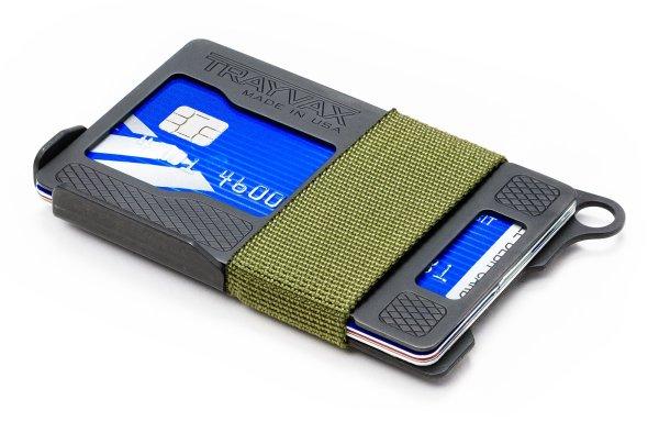 Trayvax Armored Summit Slim RFID Wallet Green