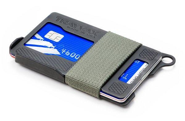 Trayvax Armored Summit Slim RFID Wallet Grey