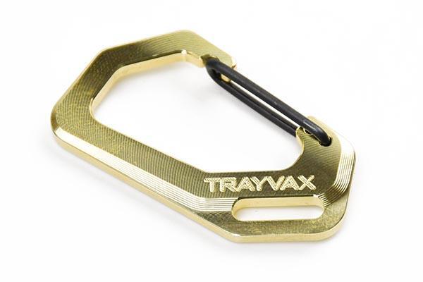 Trayvax Brass Carabiner