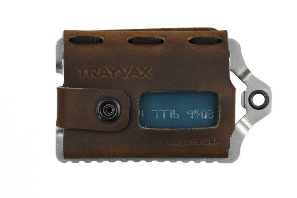 Men Leather Wallet Trayvax Element