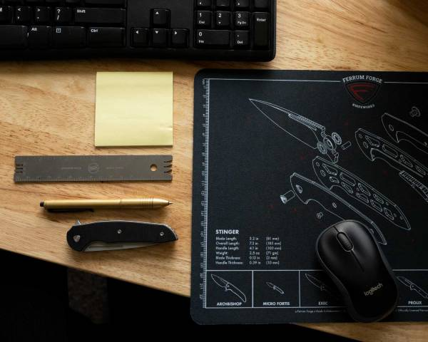 Ferrum Forge Knife Mat - Mouse Pad