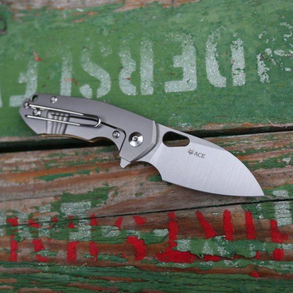 Ace Riv Brass Pocket Knife