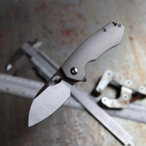 Giant Mouse Ace Riv Titanium Knife