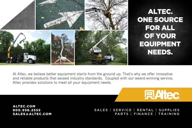 Altec - NYS Woodsmen's Field Days