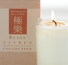 Bliss Sacred Collection Aromatherapy Candle