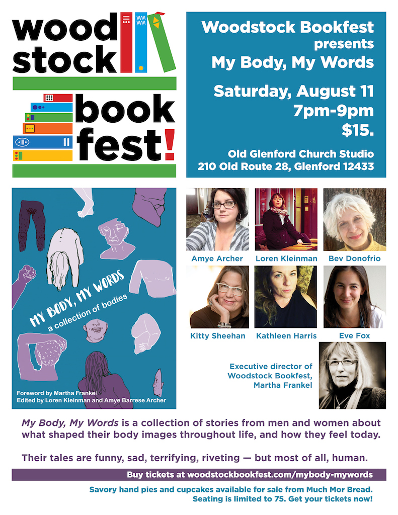 My Body, My Words-Woodstock-Bookfest
