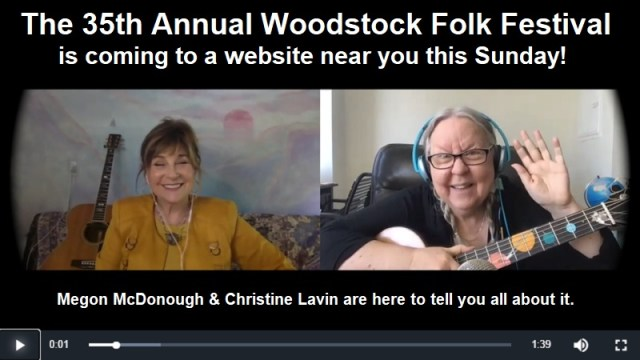The 35th Annual Woodstock Folk Festival – Preview