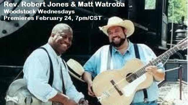 Rev. Robert Jones and Matt Watroba have been musical partners for over 30 years presenting roots music that unites people! We are excited to have them perform for us in honor of Black History Month.