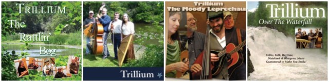 Check out Trillium's CDs, The Rattlin' Bog, Crossing the Stream, The Moody Leprechaun, Over the Waterfall.
