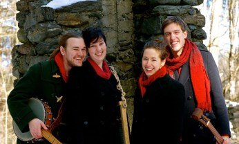 This a cappella quartet based in Massachusetts performed at our 2019 Festival. They set a record for CD sales!
