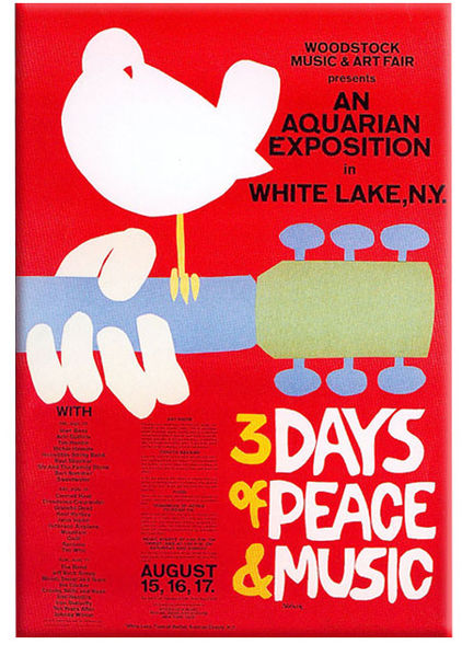 the woodstock 1969 poster