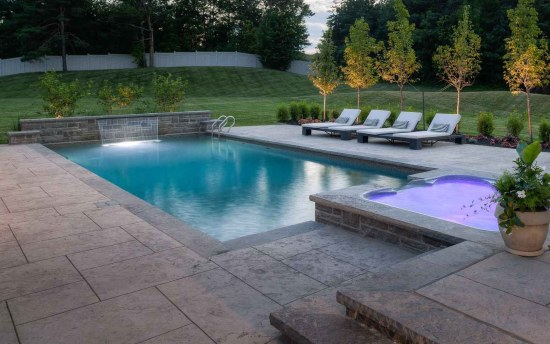 Inground Pool Design Rochester NY