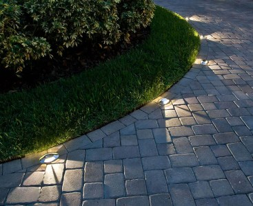 Hardscape lighting Rochester NY