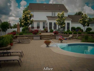 Custom Pool Project Rochester NY