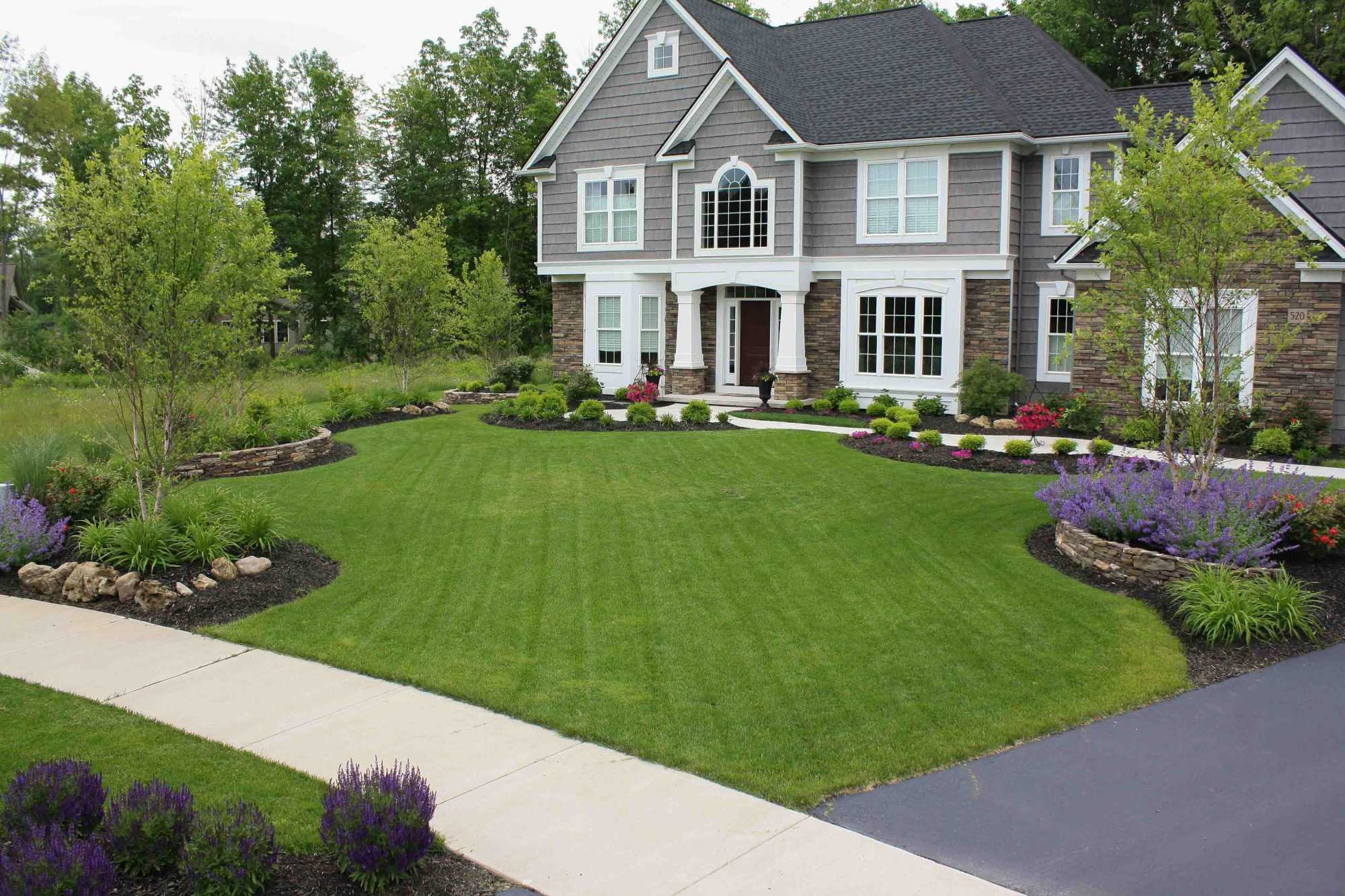 front yard landscaping rochester