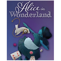 Poster for ATF Show Alice in Wonderland