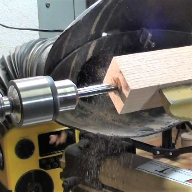drilling on the lathe