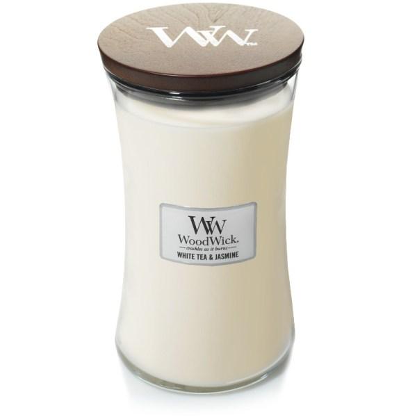 93062 White Tea Jasmine Large Jar silho