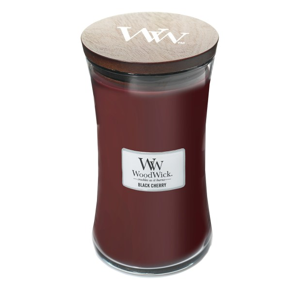 Black Cherry Large Hourglass Lid