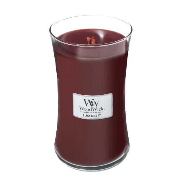 Black Cherry Large Hourglass Open