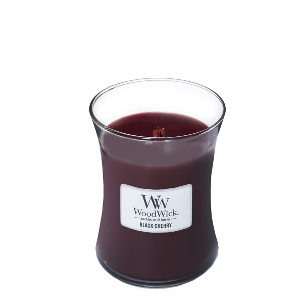 Black Cherry Medium Hourglass Open
