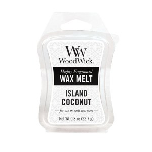 Island-Coconut-57115 WoodWick Mini Wax Melt