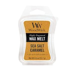 Sea-Salt-and-Caramel WoodWick Mini Wax Melt
