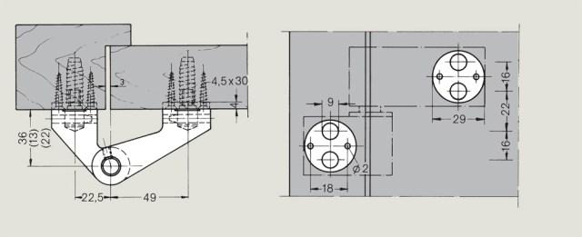 dormakaba LM Pivot Hinges | Woodwood Door Controls