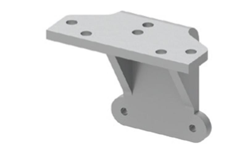 LCN 4040XP-62A Auxiliary shoe   Woodwood Door Controls