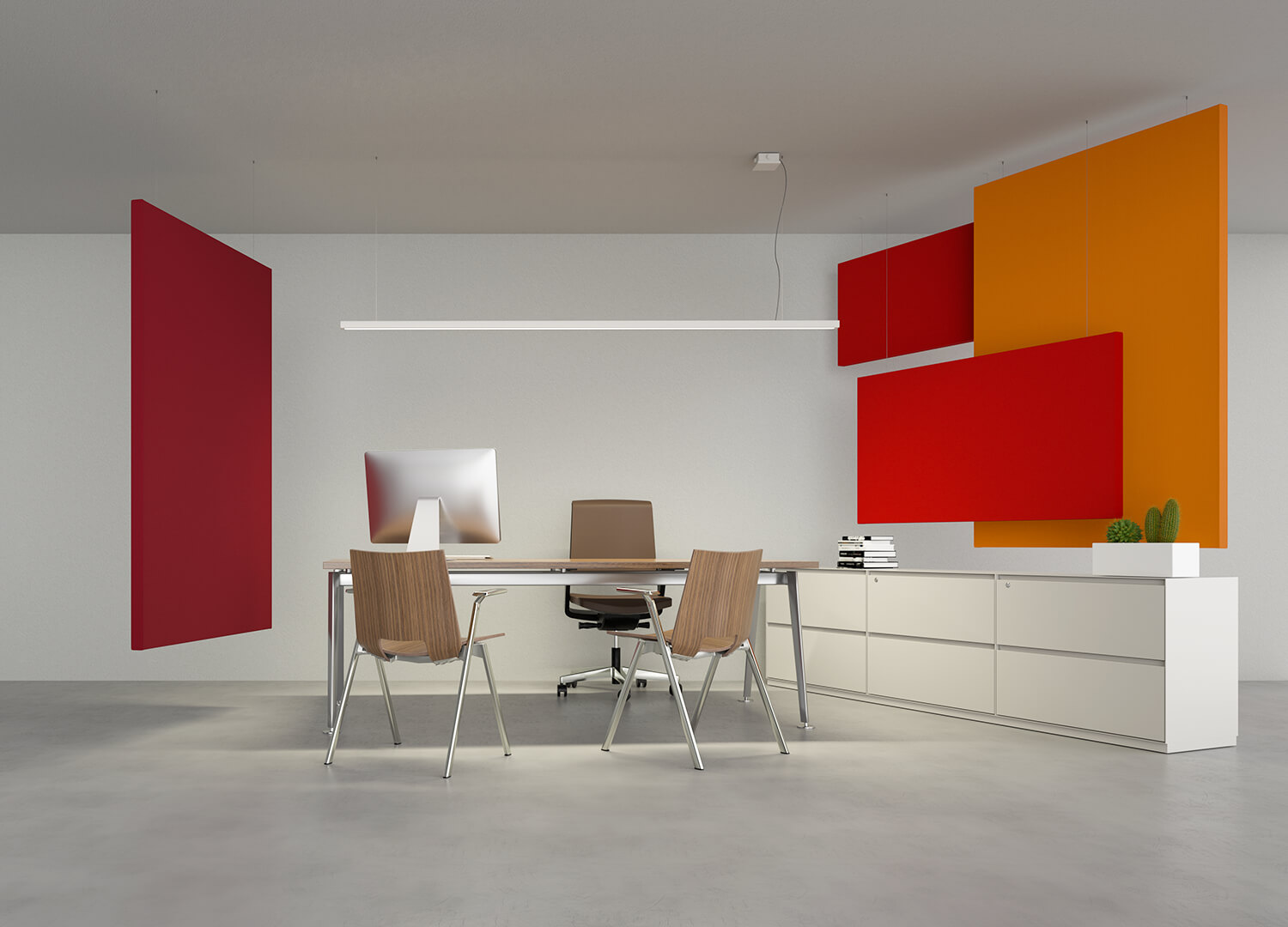 Caruso Flag Acoustic Panels | Woodwood Group