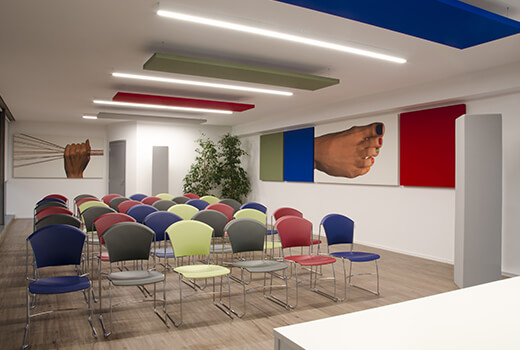 Conference Hall Acoustics | Woodwood Group