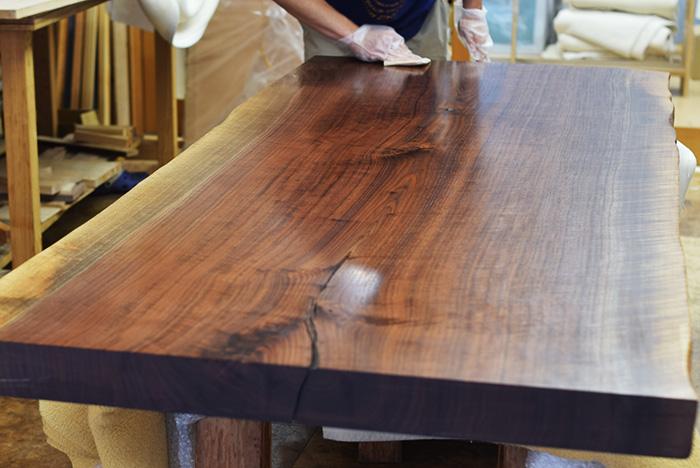 walnut ウォールナット 一枚板 無垢 天板 N12-30