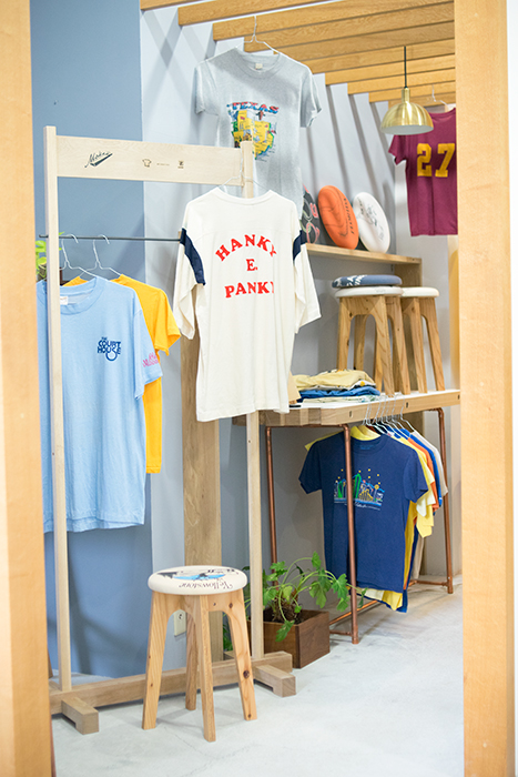 old clothes stool用 古着Tシャツ