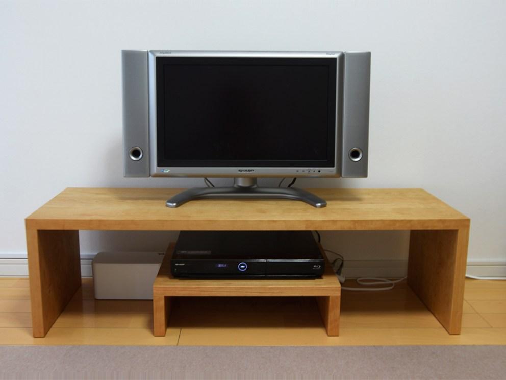 コノ字テレビボード アメリカンチェリー
