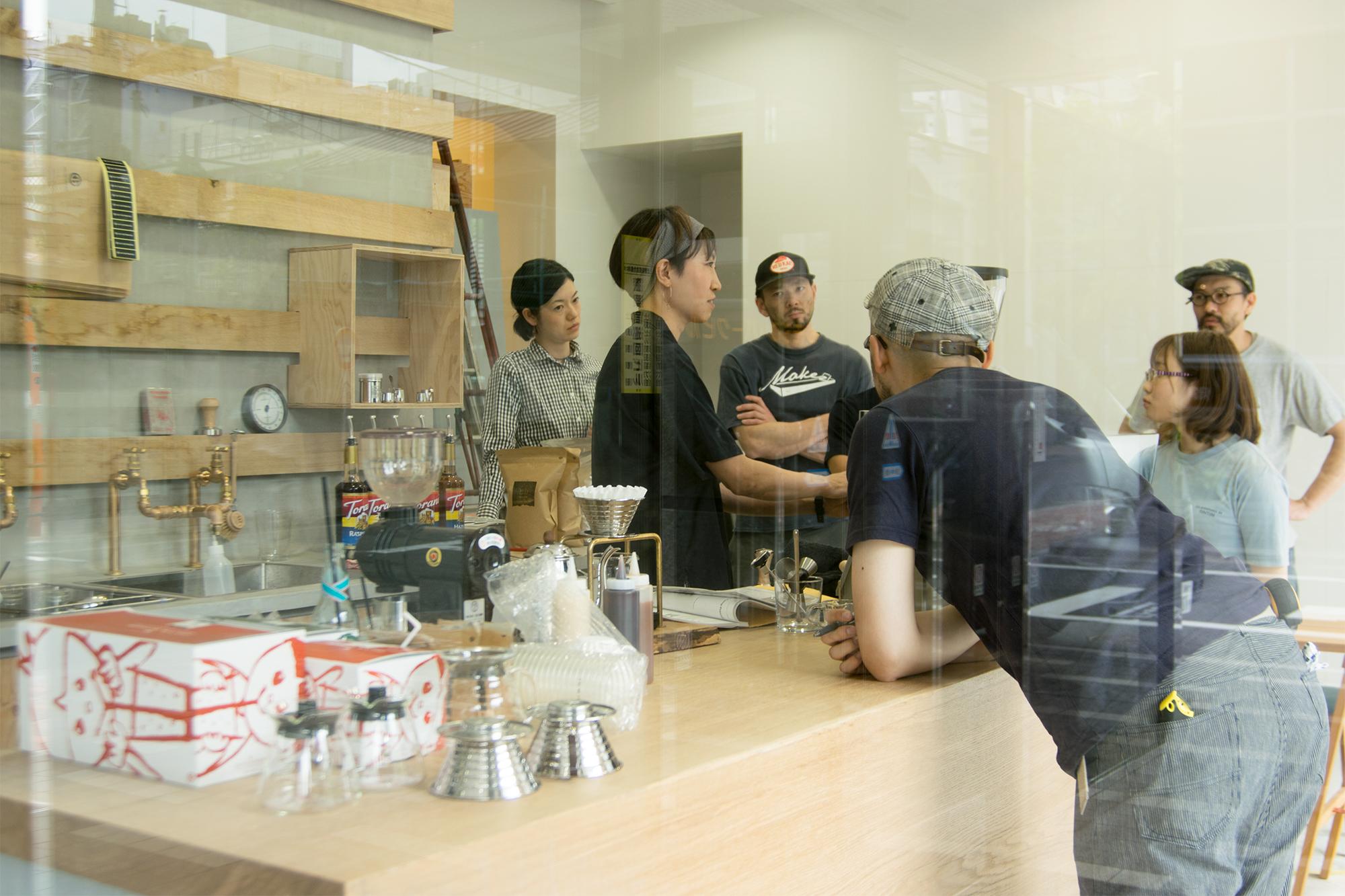 WOODWORK Welcomecoffee オープンに向けた試飲会