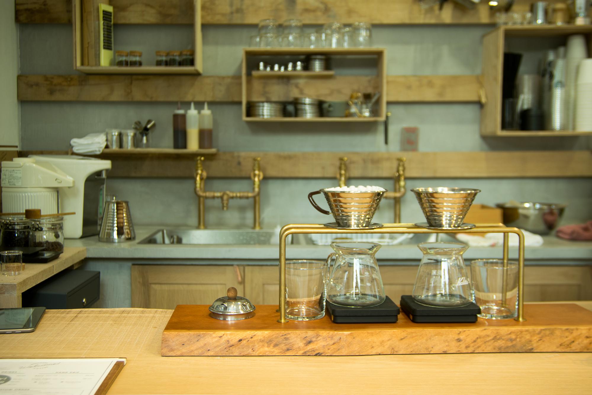 WOODWORK Welcome COFFEE バリスタからご挨拶