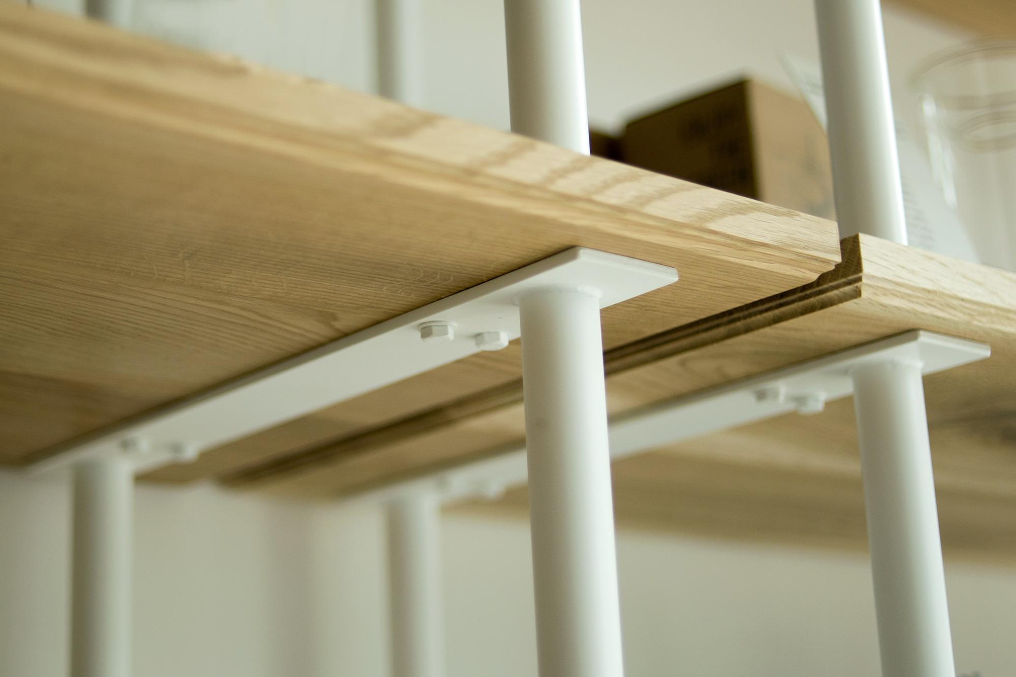 WOODWORK build rack ビルドラック ジョイント部分