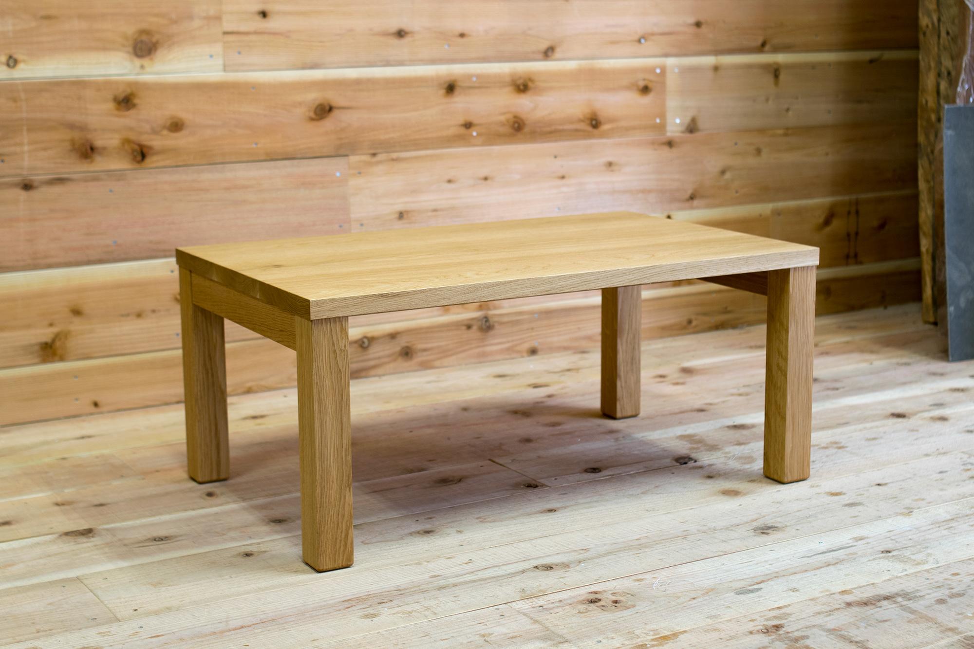 小さいサイズのスタンダードテーブル・タイプ2 ローテーブル