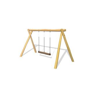 Woodwork AB-gungställning med trossgunga